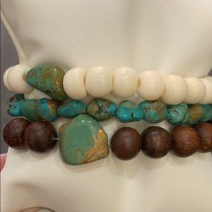 Jewelry - Turquoise set of 3 Bracelets